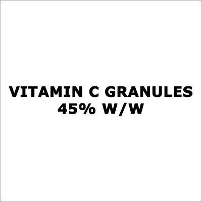 Vitamin C Granules 45% W-W