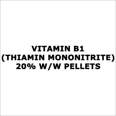 Vitamin B1 (Thiamin Mononitrite) 20% W-W Pellets