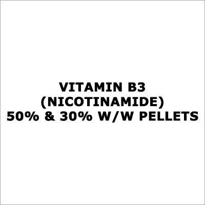 Vitamin B3 (Nicotinamide) 50% & 30% W-W Pellets