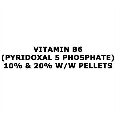 Vitamin B6 (Pyridoxal 5 Phosphate) 10% & 20% W-W Pellets