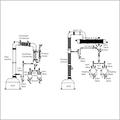 Distillation Overhead Assembly