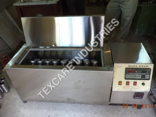 cotton sample dying machine