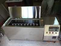 cotton sample dying machine
