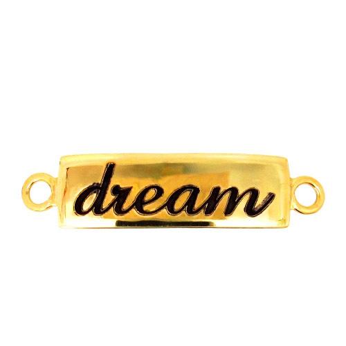 Gold Sterling Silver Bracelet Connector