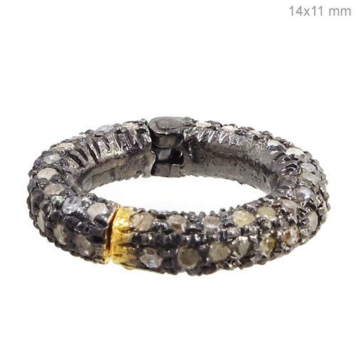 14k Gold Diamond Lock Finding Jewelry
