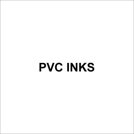 Pvc Inks