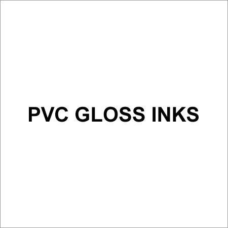 Pvc Gloss Inks