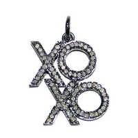 Fashionable Diamond Silver Pendant