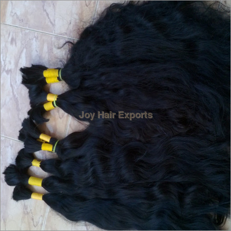 Indian Temple Weft Human Hairs