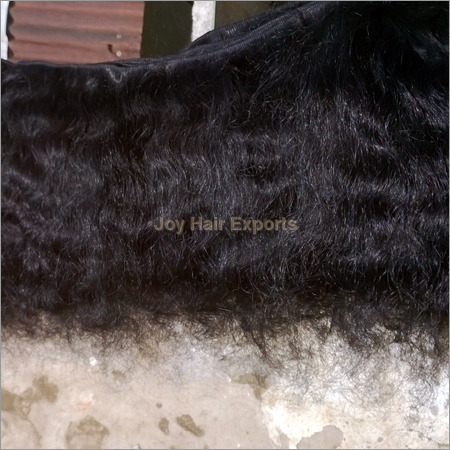 Natural Black Curly and Wavy Hairs