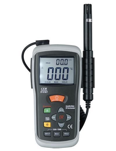 Humidity & Non Contact IR Thermometer