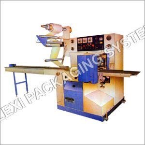 Flow Wrap Machine For Packing Of Square