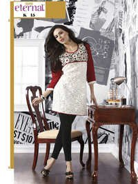 latest designer long kurtis
