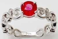 low price ruby  diamond jewelry manufacturer, real gold jewelry wholeseller