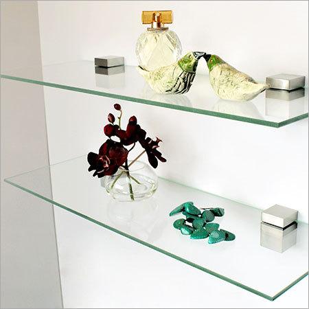Glass Wall Shelfs