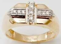 Real Diamond Men's Ring