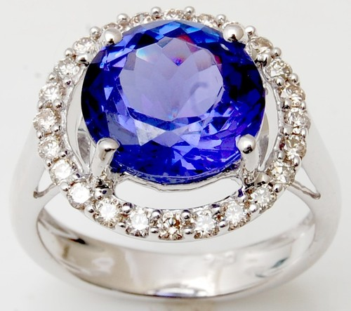 Tanzanite jewelery manufacturer
