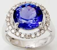 Tanzanite jewelery manufacturer