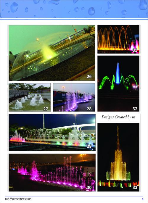 Dancing Water Fountains