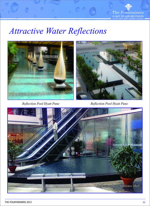 Reflection Pool Fountain
