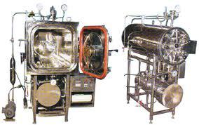 Steam Sterilizer Rectangular High Pressure