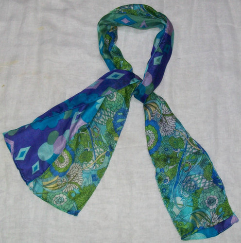 Silk Fancy Scarves
