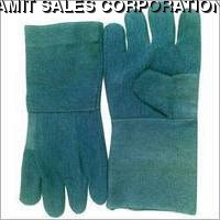 Cotton Jeans Hand Gloves