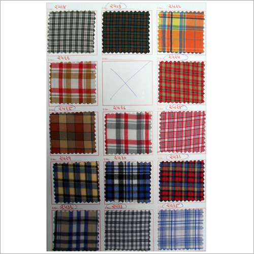 chanceller multi checks uniform fabric
