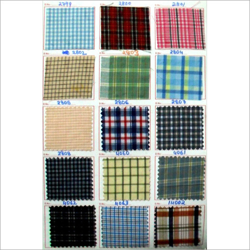 Polyster Viscose Shirting Fabric