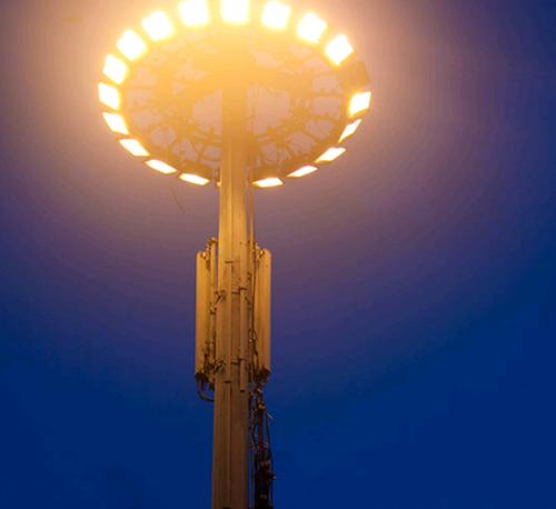 High Mast Street Light Poles