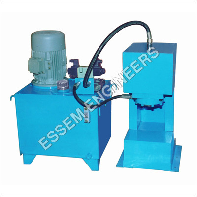 Hydraulic Interlocking Paver Press