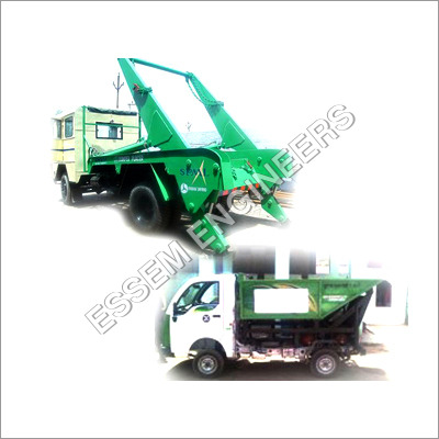 Hydraulic System For Solid Waste Handling Equipments