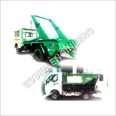 Hydraulic System For Solid Waste Handling Equipments