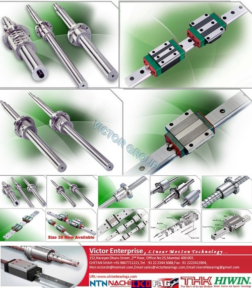 Hiwin Rolled Ball Screws