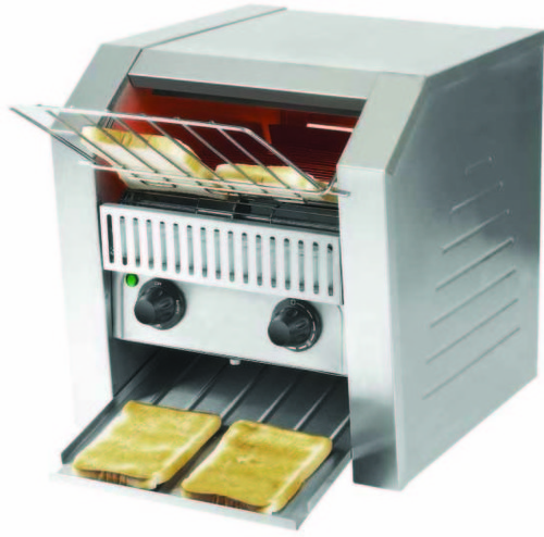bun conveyor conveying of toaster commercial photo toast