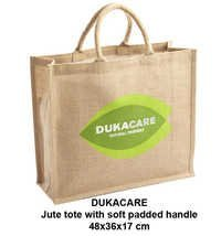 Jute Tote Bags With Soft Padded Handle