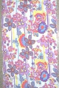 Flower Printed Cotton Scarves