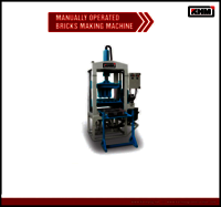 6 KVT Manual Flyash Bricks making Machine