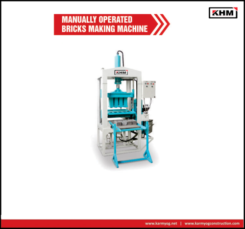 4 KVT Manual Flyash Bricks making Machine