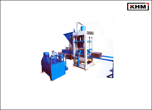2 KVT Manually Operated Bricks Making Machine