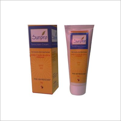 Sunpro Sun Protection Creams