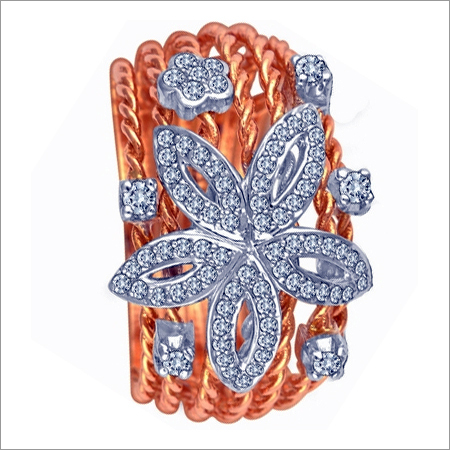 Floral Opulent Ring