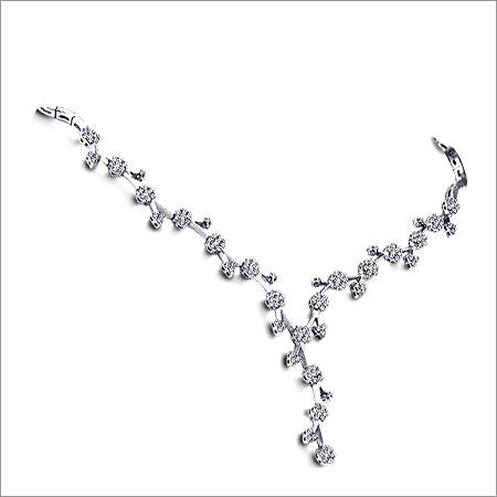 Sparkling and Adorable Diamond Necklace