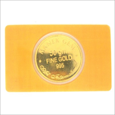 50 gm Gold Coin