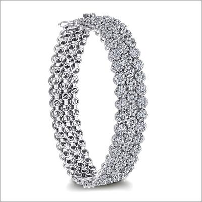 3 Line Tennis Bracelet