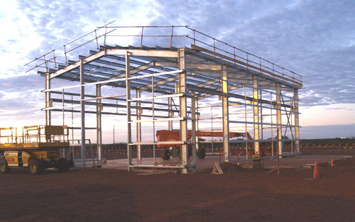 industrial shade structure