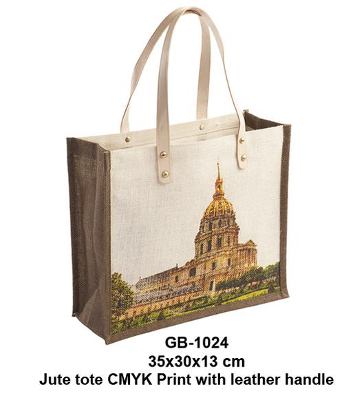 Jute CMYK Print Bag