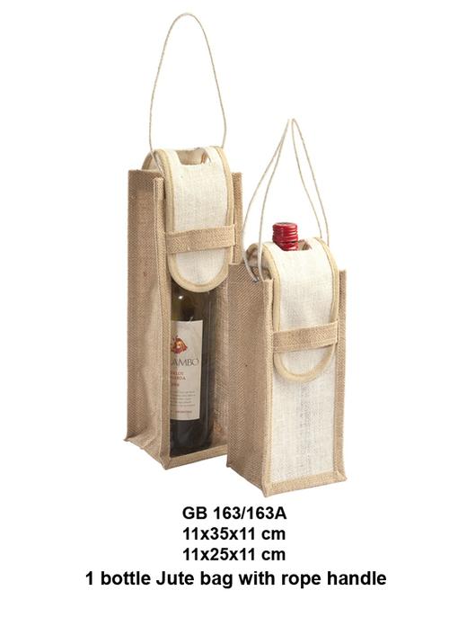 Single Wine Bottle Bags
