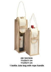 Single Wine Bottle Bags