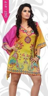 Exporters of digital printed kurtis